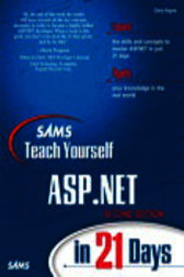Sams Teach Yourself ASP.NET in 21 Days, Adobe Reader by Chris Payne