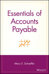 Essentials of Accounts Payable by Mary S. Schaeffer