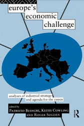 Europe's Economic Challenge by Patrizio Bianchi