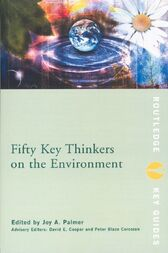 Fifty Key Thinkers on the Environment by Joy Palmer