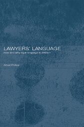 Lawyers' Language