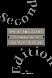 Metal-Insulator Transitions by Nevill Mott