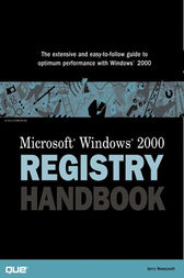Microsoft Windows 2000 Registry Handbook by Jerry Honeycutt