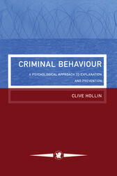 Criminal Behaviour by Clive Hollin