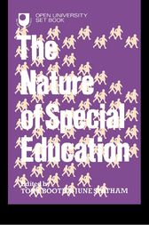 The Nature of Special Education by Tony Booth