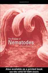 The Biology of Nematodes by Donald L Lee