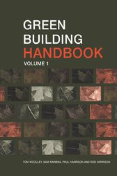 Green Building Handbook: Volume 1