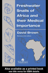 Freshwater Snails Of Africa And Their Medical Importance by David S Brown