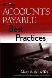 Accounts Payable Best Practices by Mary S. Schaeffer