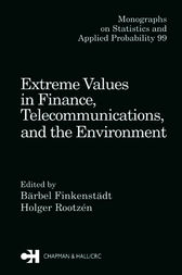 Extreme Values in Finance, Telecommunications, and the Environment by Barbel Finkenstadt