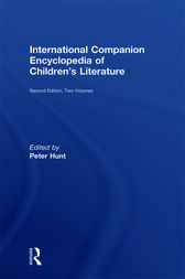 International Companion Encyclopedia of Children's Literature by Peter Hunt
