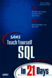 Sams Teach Yourself SQL in 21 Days, Adobe Reader by Ron Plew