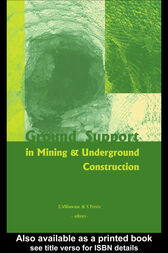 Ground Support in Mining and Underground Construction by Ernesto Villaescusa