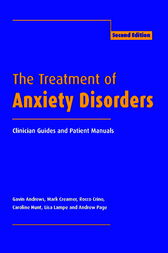 The Treatment of Anxiety Disorders by Gavin Andrews