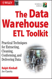 The Data Warehouse ETL Toolkit by Ralph Kimball
