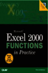 Microsoft Excel 2000 Functions in Practice, Adobe Reader by Patrick Blattner