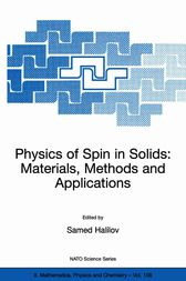 Physics of Spin in Solids: Materials, Methods and Applications by Samed Halilov