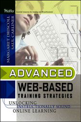 Advanced Web-Based Training Strategies