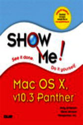 Show Me Mac OS X Panther, Adobe Reader by Andy Anderson