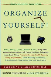 Organize Yourself! by Ronni Eisenberg