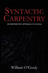 Syntactic Carpentry by William O'Grady