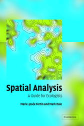 Spatial Analysis by Marie-Josée Fortin