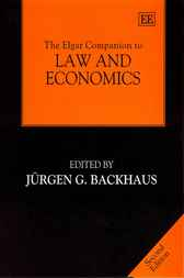 The Elgar Companion to Law and Economics by J.G. Backhaus