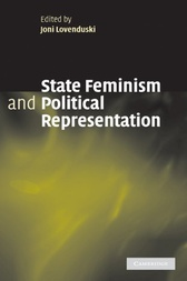 State Feminism and Political Representation by Joni Lovenduski