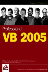 Professional VB 2005 by Bill Evjen