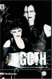 Goth by Paul Hodkinson