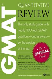 The Official Guide for GMAT Quantitative Review