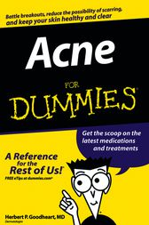 Acne For Dummies by Herbert P. Goodheart