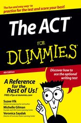 The ACT For Dummies by Michelle Rose Gilman