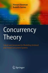Concurrency Theory by Howard Bowman