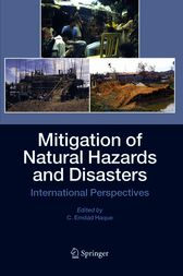Mitigation of Natural Hazards and Disasters by C. Emdad Haque