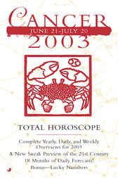 Total Horoscopes 2003: Cancer