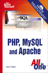 Sams Teach Yourself PHP, MySQL and Apache All in One, Adobe Reader by Julie Meloni