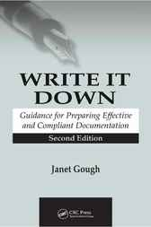 Write It Down by Janet Gough
