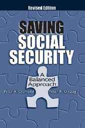 Saving Social Security by Peter A. Diamond