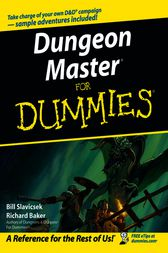 Dungeon Master For Dummies by Bill Slavicsek