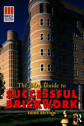 BDA Guide to Successful Brickwork by The Brick Development Association