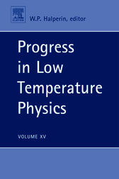 Progress in Low Temperature Physics by Bill Halperin