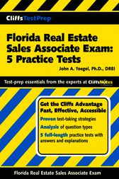 Florida Real Estate Sales Associate Exam by John A. Yoegel