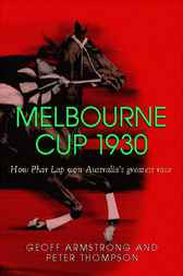 Melbourne Cup 1930 by Geoff Armstrong