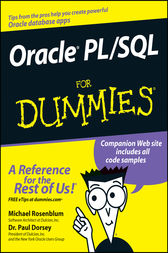 Oracle PL / SQL For Dummies by Michael Rosenblum