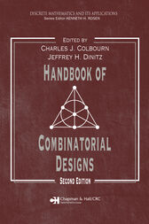 Handbook of Combinatorial Designs, Second Edition by Charles J. Colbourn