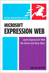 Microsoft Expression Web by Nolan Hester