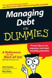 Managing Debt For Dummies by John Ventura