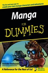 Manga For Dummies by Kensuke Okabayashi