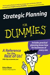 Strategic Planning For Dummies by Erica Olsen